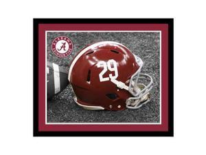 Replay Photos Alabama Crimson Tide Framed Alabama Helmet Art - 16 x 19