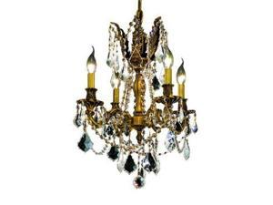 Lighting By Pecaso Reynard Collection Hanging Fixture D17in H21in Lt:4 French Go