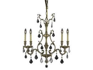 Lighting By Pecaso Sage Collection Hanging Fixture L26in W6in H29in Lt:4 French