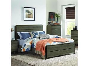 Homelegance Vestavia Platform Bed in Grey - Queen