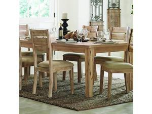 Homelegance Colmar Rectangular Dining Table in Burnished Oak