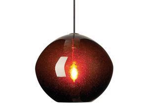 LBL Lighting Mini Isla Pendant Bronze Finish Mini Pendant - HS506BRBZ1B35MPT