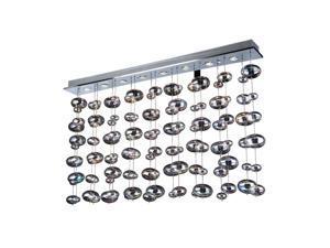 PLC Lighting Bubble 8 Light Ceiling Light / Polished Chrome - 96958-PC