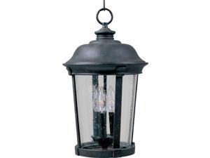 Maxim Dover Cast 3-Light Outdoor Hanging Lantern Bronze - 3029CDBZ