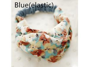 TGLOE Korean Styled Garden Floral Silk Yarn Small Fresh Female Headbands