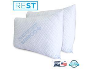 REST Bamboo Pillows King Size - 2pk