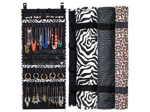 The Ultimate Jewlery Scroll - Holds 150 Pieces of Jewlery - Great for Travel