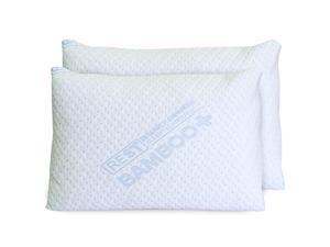 REST® Bamboo Queen Memory Foam Pillow (2 Pack)