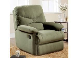 1PerfectChoice Arcadia Furniture Accent Comfort Plush Recliner Chair Lazy Boy Sage Microfiber