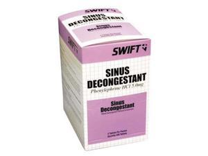 Swift First Aid Sinus Decongestant (2 Per Package, 500 Per Box)