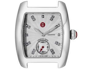 MICHELE Urban Analog Display Swiss Quartz Silver Watch MW02T00A0942