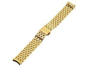 MICHELE Serein 18mm Stainless Steel Gold Watch Bracelet MS18EV246710