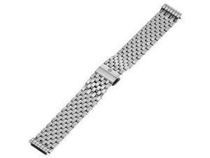 MICHELE 18mm CSX Stainless Steel Silver Watch Bracelet MS18AT235009