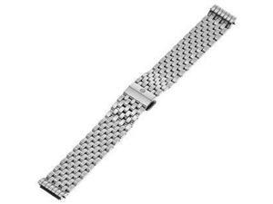 MICHELE Deco 18mm Stainless Steel Silver Watch Bracelet MS18AU235009