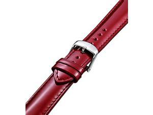 MICHELE Watch Strap Scarlet Patent Leather MS18AA050602. ONLY ONE LEFT IN STOCK