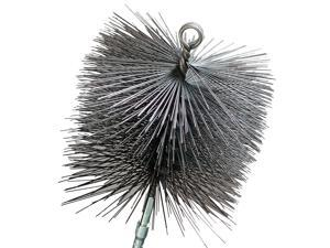 Square Chimney Sweep Wire Brush - 7""