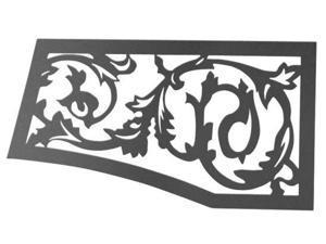 Napoleon Metallic VOIK Victorian Ornamental Upper/Lower Insets - Black