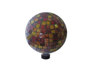 Red and Gold 10 inch Gazing Globe