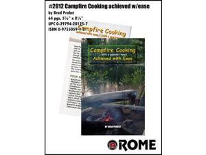 Rome Campfire Cooking Book - Achieved With Ease