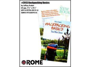 Rome Backpacking Basics That Make Sense Book