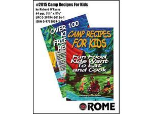 Rome Camp Recipes For Kids Book