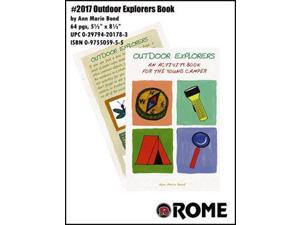 Rome Outdoor Explorers - Activity Book For Young Explorers