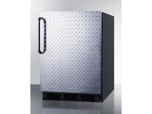 Freestanding Residential Counter Height All-Refrigerator - Black