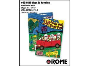 Rome 110 Ways To Have Fun - Travel Games and Activities