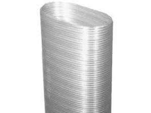 """Flex-All Oval Single Ply Stainless Steel Chimney Liner - 5"""" x 9"""" x 10'"""