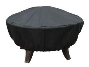 Firedance Cover Black Polyester With Pvc Lining