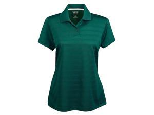 Adidas A162 ClimaLite Textured Short Sleeve Polo