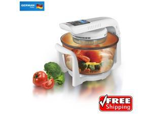 German Pool: Multi-Purpose 12 Liter Halogen Cooking Pot Combining Microwave Oven, Toaster, Stewing Pot and Skillets