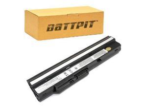 BattPit: Laptop / Notebook Battery Replacement for MSI Wind U123 (4400 mAh) 11.1 Volt Li-ion Laptop Battery