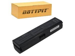 BattPit: Laptop / Notebook Battery Replacement for Toshiba Satellite A665-S6087 (6600 mAh) 10.8 Volt Li-ion Laptop Battery