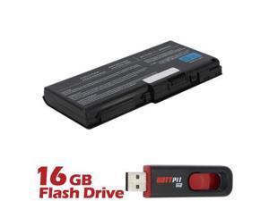 Battpit: Laptop / Notebook Battery Replacement for Toshiba Qosmio X505-Q830 (4400mAh) 10.8 Volt Li-ion Laptop Battery with FREE 16GB Battpit: USB Flash Drive.