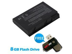 Battpit: Laptop / Notebook Battery Replacement for Acer Aspire 5102WLMi-MCE (4400mAh / 49Wh) 11.1 Volt Li-ion Laptop Battery with FREE 8GB Battpit: USB Flash Drive.