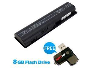 Battpit: Laptop / Notebook Battery Replacement for HP EV06 (4400mAh) 10.8 Volt Li-ion Laptop Battery with FREE 8GB Battpit: USB Flash Drive.