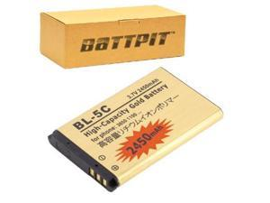 BattPit: Cell Phone Battery Replacement for Nokia 6670 (2450 mAh) 3.7 Volt Li-ion Cell Phone Battery