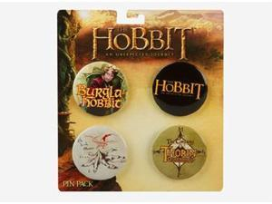 "The Hobbit Pin Pack MultiColor 1.5"" Circle"
