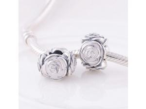 [Search Name: Rose Garden] European Bead, 925 Solid Sterling