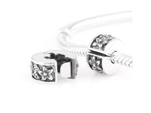[Search Name: Honor Flower] European Lockers chains, 925 Solid Sterling Locker