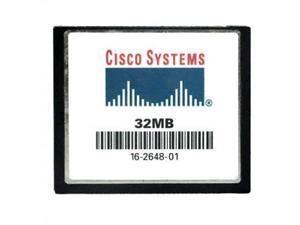 Cisco upgrade from 32MB to 64MB - Flash memory card - 32 MB - CompactFlash [PC]