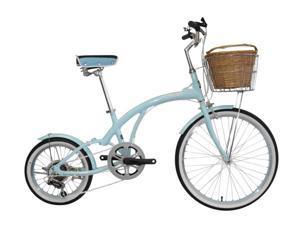 "Alton ""Flora"" Unique Italy Design Lady Frame Shimano 6-Speed Comforter Bike"
