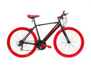 "Alton ""Compass"" Hybrid/Commuter Bike Shimano 21-Speed Red/Black 700C x 20"" Frame"