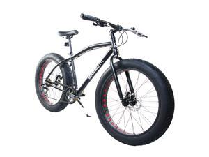 "Alton Mammoth / Fat-Tire Bike / 26"" / 7-Speed / Alloy Frame / Black"