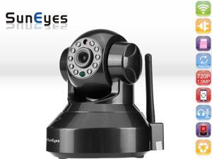 SunEyes SP-HM01WP 720P 1.0MP HD IP Camera Wireless P2P Plug and Play IR Cut Night Vision Pan/Tilt Two Way Audio Micro SD Slot