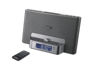 Sony Icfcs15ipsiln Iphone(r)/ipod(r) Speaker Dock Clock Radio With Lightning Connector (silver)