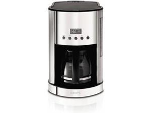 Krups KM730D50 Breakfast Set 12-Cup Coffee Maker
