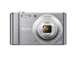 Sony DSCW810 20.1MP Cyber-Shot Digital Camera With 6x Optical Zoom