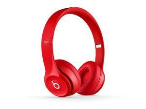 Beats Solo 2 Wireless Headphones - Red